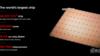 世界最大芯片问世!1.2万亿晶体管,面积大过iPad