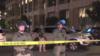 30秒 | 加州奥克兰市示威游行发生骚乱  国土安全局警员遭枪击死亡