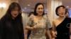 钟丽缇现身慈善晚会,一身紧身裙有赘肉显壮实,网友:真魁梧!