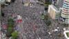 韩国首尔禁止大规模集会 组织者称照办不误:比地铁安全千倍