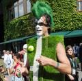 溫網球迷奇葩裝扮