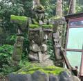 印尼現百年歷史高達石像
