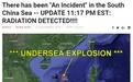"""南海水下發生""""2萬噸當量核爆""""?看謠言是如何從美國開始傳播的"""