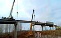 哈牡电气化铁路工程丨平山村,一座公铁立交桥合龙