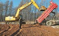 通北林区200名施工人员 奋力打造高标准农田