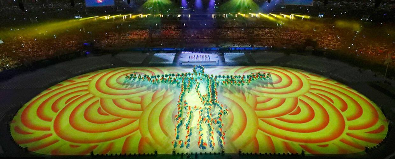 直击2016里约奥运会闭幕式