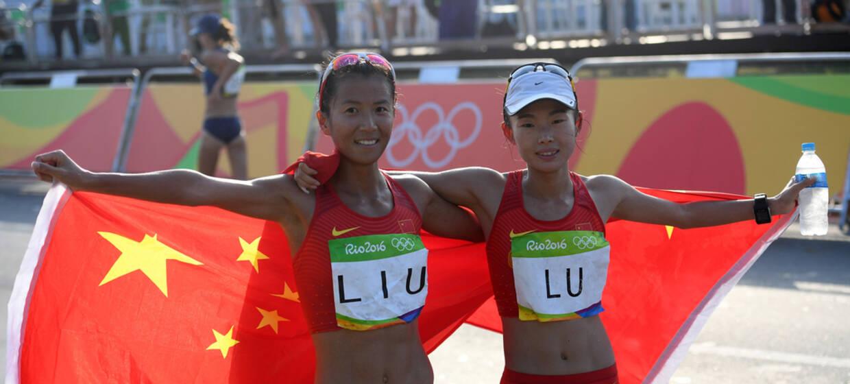 刘虹20公里竞走惊险夺金 吕秀芝摘铜
