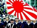 """一塌糊涂的法国阅兵上日本自卫队居然举起""""旭日旗"""""""