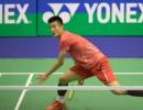 香港赛谌龙完胜韩国老将 安塞龙退赛林丹苦战逆转