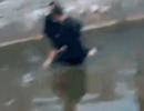 河南两男子救跳湖女子悄然离去,警方呼吁接力寻人