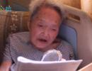 百岁老人每日读英文 攒30万积蓄助学