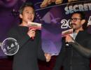 阿米尔·汗携《神秘巨星》上海路演 邓超惊喜现身惹爆笑