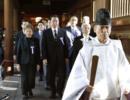 日本76名跨党派议员联盟成员集体参拜靖国神社