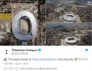 热刺发布新球场俯瞰图,被网友吐槽像马桶