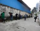 上尧司法所组织社区服刑人员开展集体社区服务劳动
