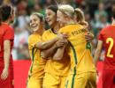 热身-新帅首秀遭惨败 中国女足全场仅1射0-3澳洲