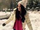 温碧霞新疆拍戏爱上雪景 冻病后接商演仍引爆全场