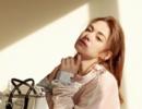 张榕容变身猫系女神登时尚封面 温柔慵懒享受早春暖阳