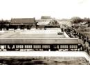 八国联军镜头下的紫禁城,图三是彼时慈禧寝宫