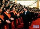 习近平:坚持走中国特色社会主义社会治理之路 确保人民安居乐业社会安定有序