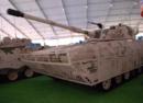 中国又一款新轻坦 全身包裹可卡住火箭弹的格栅装甲
