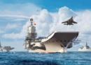 中国双航母战斗群即将成型,哪些作战舰艇将加入远航?