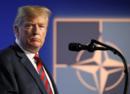 """特朗普威胁退出北约?""""大家都愿意提高国防开支,那就没有必要了"""""""