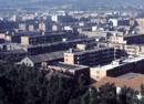 云南旧影1985年,鸟瞰绿树成荫的昆明城