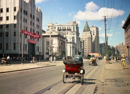 上海1950年,远东第一高楼国际饭店