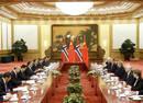 李克强同挪威首相举行会谈  同意重启自贸谈判