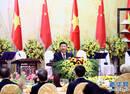 习近平出席越共总书记和越国家主席举行的欢迎宴会