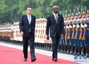 李克强同特立尼达和多巴哥总理罗利举行会谈