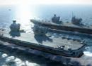 中英航母大战谁能赢?歼15:1枚炸弹就能炸瘫