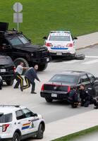 加拿大首都枪击现场