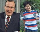 最意外笔友:菲律宾男孩受老布什匿名资助十年