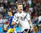 世界杯-罗伊斯建功克罗斯读秒绝杀 德国2-1力克瑞典