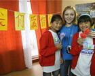 """记""""海洋""""全俄儿童中心接收汶川灾区儿童疗养十周年"""