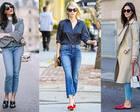 看了这40张关于九分裤的穿法,春天不再盲穿了!