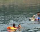 女生公园溺水 65岁铁人三项运动员成功施救