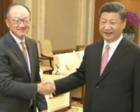 习近平会见世界银行行长