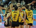 土耳其女排联赛第二阶段 朱婷瓦基弗银行对战贝利克度兹