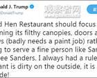 特朗普回应下属因他被赶出餐馆:从里到外都脏!