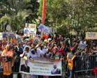 塞内加尔民众载歌载舞 欢迎习近平