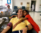 200余名印度友人端午在上海无偿献血