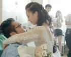 男子遭遇车祸恐要截肢提分手 女友穿婚纱病房中求婚