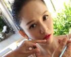 陈乔恩的爱心唇太可爱 扮美心经更值得学