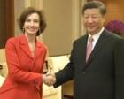 习近平会见联合国科教文组织总干事