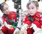 泰国6岁小女孩不爱玩耍 偏爱救死扶伤