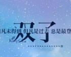藤井树之最详细精准的2017年12星座综合年运势(下):双子座运势