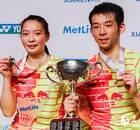 澳羽公开赛:鲁恺、黄雅琼再夺超级赛混双冠军